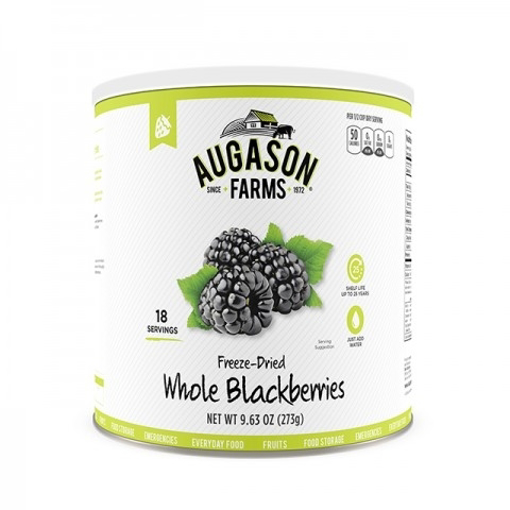 Picture of Blackberries ~ Freeze Dried in #10 Can