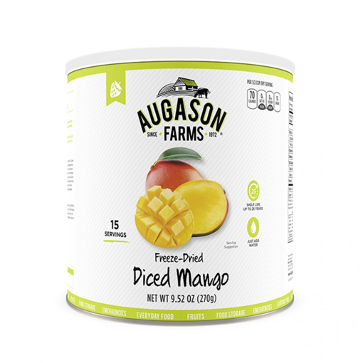 Picture of Mango Dices ~ Freeze Dried in #10 Can