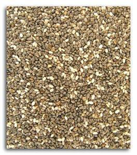 Picture of Black Chia Seeds ~ 1# ~ ORGANIC