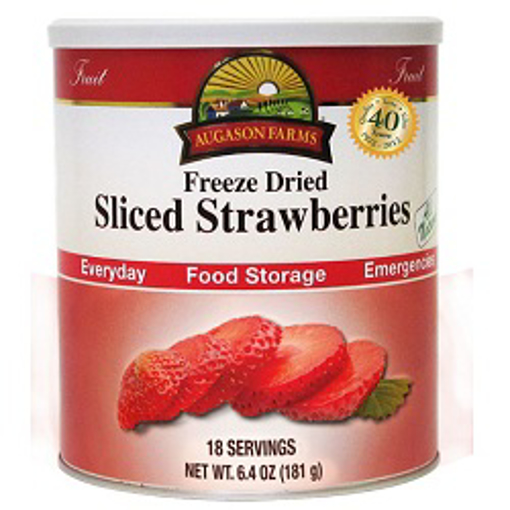 Picture of Strawberries, Sliced Freeze Dried