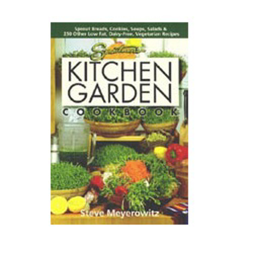 Picture of SPROUTMAN'S KITCHEN GARDEN COOKBOOK & SPROUT WHEEL