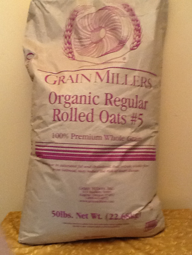 Picture of Rolled Oats Organic 50#