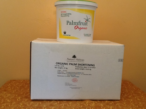 Picture of Palm Fruit Shortening 33# box