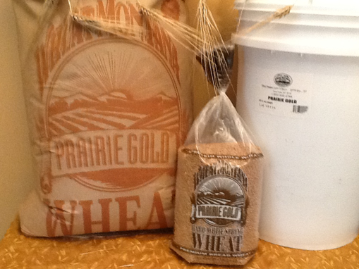 Picture of Prairie Gold Hard White Spring Wheat 5#