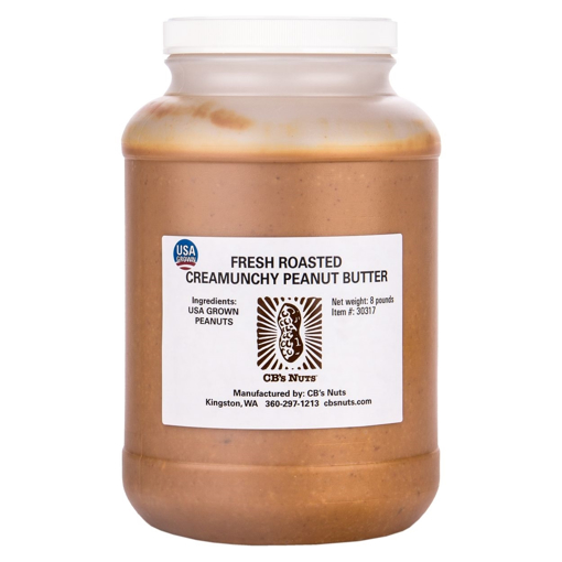 Picture of Peanut Butter ~ CREAMUNCHY 8# gallon