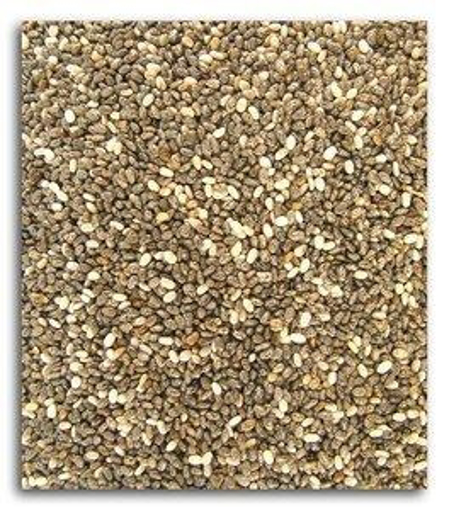 Picture of Black Chia Seeds ~ 5# ~ ORGANIC