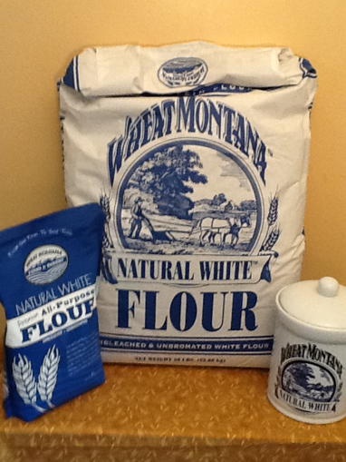 Picture of Natural white Unbleached Flour 25#