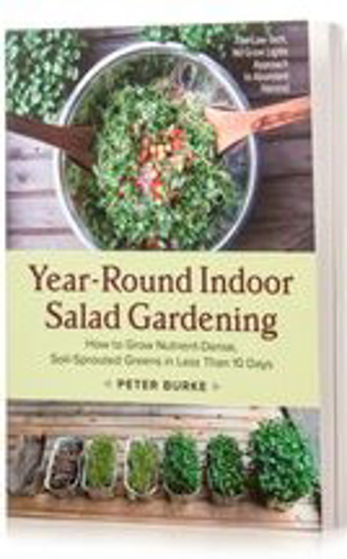 Picture of Year-Round Indoor Salad Gardening Book